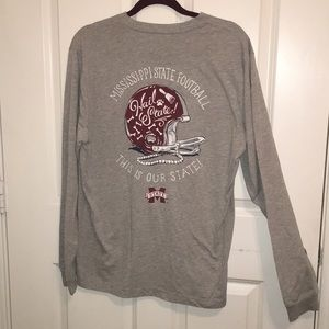 Mississippi State Football Long Sleeve